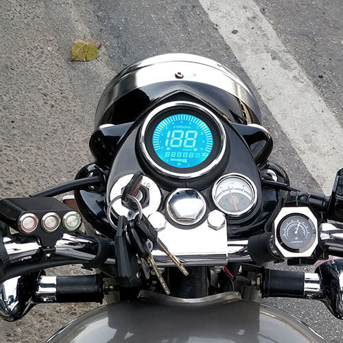 New Digital Meter For Royal Enfield Classic, Signals, Standard & Electra