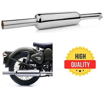 Short Punjab Silencer For Royal Enfield