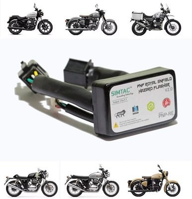 Simtac Hazard Indicator Flasher for All Royal Enfield