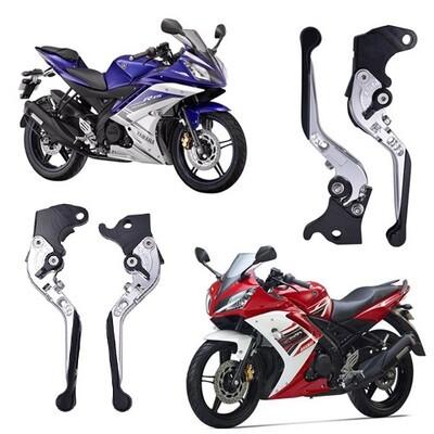 Folding Adjustable Brake Clutch Levers For Yamaha R15 V1, R15 V2