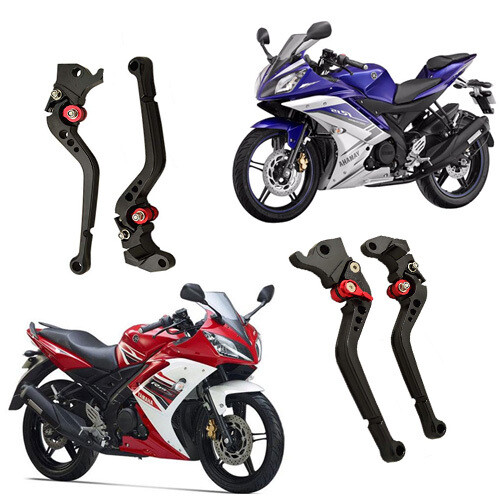 Adjustable Brake Clutch Levers For Yamaha R15 V1, R15 V2