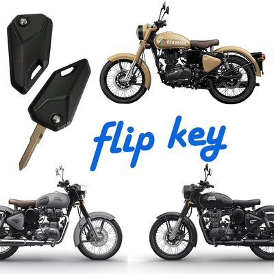 Flip Key for Royal Enfield Classic