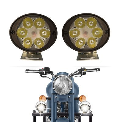 6 LED Fog Lamps Round - pair