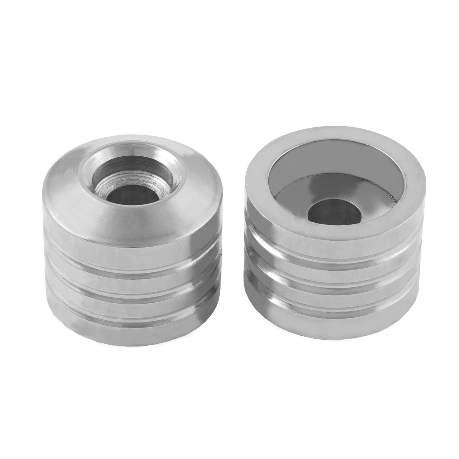 MotorCycle HandleBar End Weights for Royal Enfield All Models and All Other Bikes (Set of 2,Chrome)
