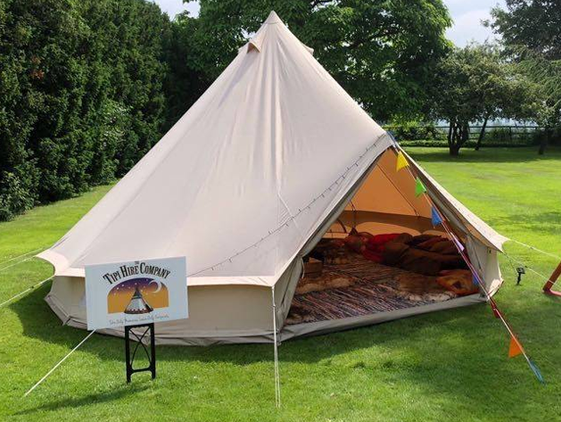913814126.jpg & 4 Metre Ultimate Luxury Bell Tent bell tent with fitted integrated roof ...