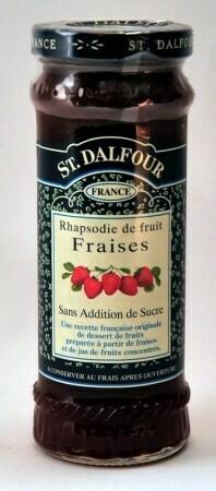 DALFOUR Aardbeien 284 gr