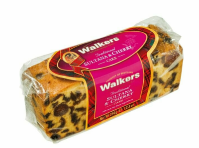 Walkers Sultana & Cherry Cake 350 gr