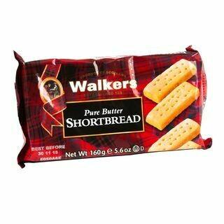 Walkers shortbread fingers 160 gr