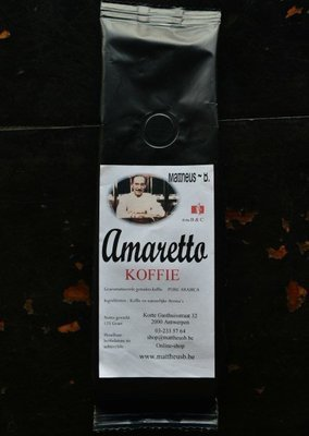 AMARETTO FLAVOURED COFFEE gemalen 125 GR