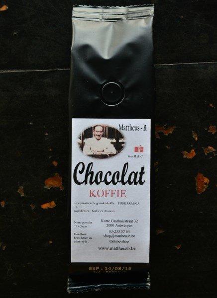 CHOCOLATE FLAVOURED COFFEE gemalen 125 GR