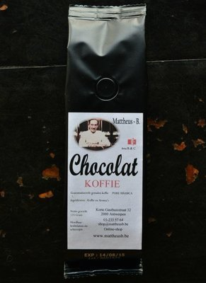 CHOCOLATE FLAVOURED COFFEE gemalen 125 GR