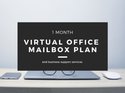 Virtual Office Mailbox Plan - 1 month