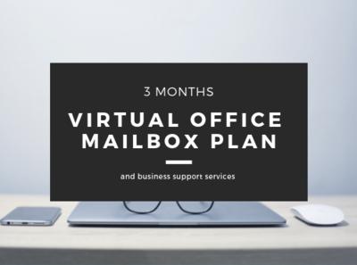 Virtual Office Mailbox Plan - 3 months (Save 10%)