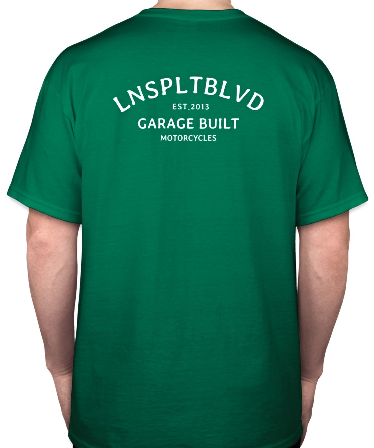 2018 LNSPLT Garage Built Tee (GREEN)