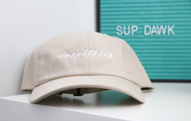 Lnspltblvd Dad Hat (Sand)