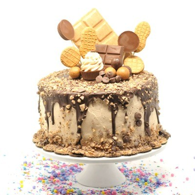 Peanut Butter Lovers Cake