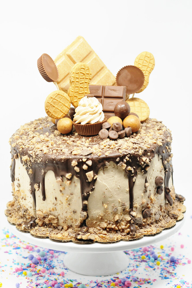 Peanut Butter Lovers Cake