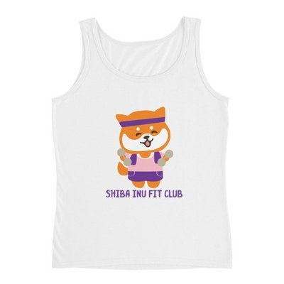 Kawaii Shiba Co. Ladies Fit Club Tank