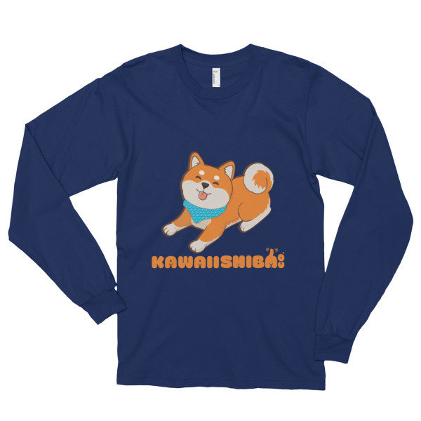 Kawaii Shiba Co. Long sleeve t-shirt (unisex)
