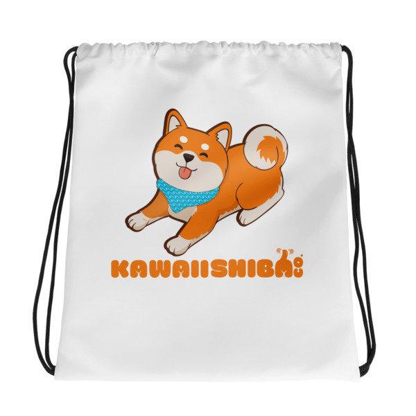 Kawaii Shiba Co. Drawstring bag