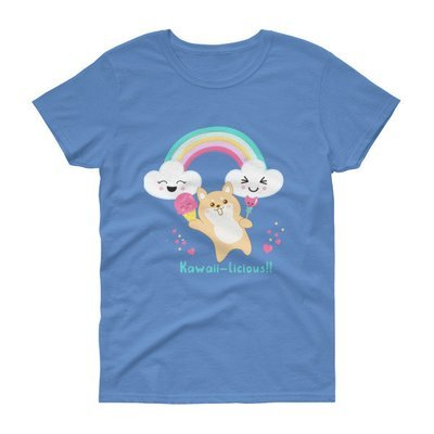 Kawaii Shiba Co. Kawaii-licious Women's short sleeve t-shirt