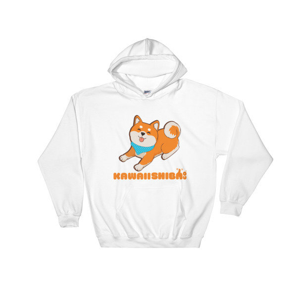 Kawaii Shiba Co. Unisex Hooded Sweatshirt