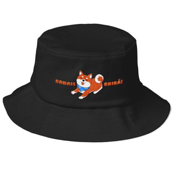Kawaii Shiba Co. Old School Bucket Hat
