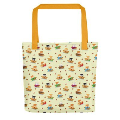 Kawaii Shiba Co. Tote bag