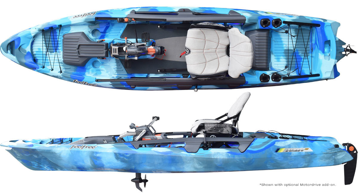 "Feelfree ""DORADO"" Overdrive Pedal Powered Kayak - 13'5"""