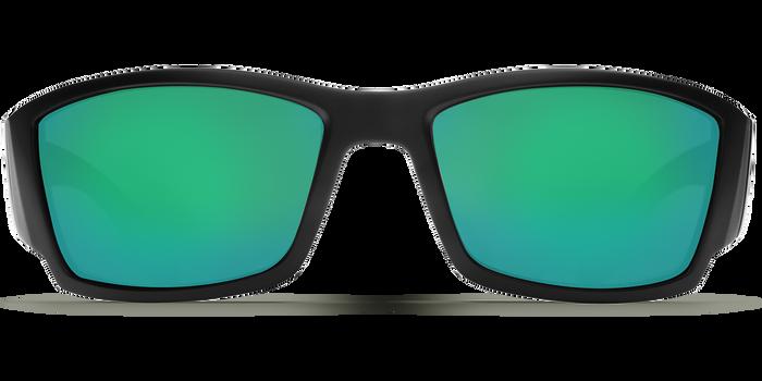 Costa Corbina 580G Sunglasses - Matte Black/Green Mirror 580G