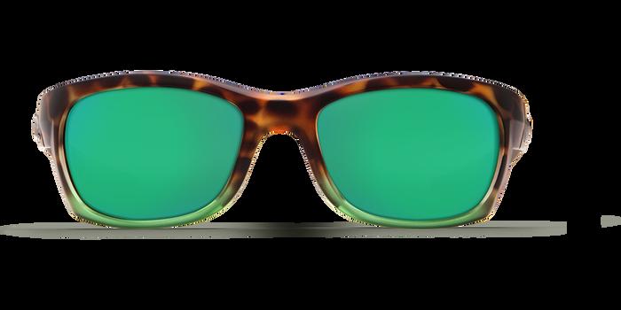 Costa Trevally 580G Sunglasses - Tortoise Frame/Green Mirror Glass