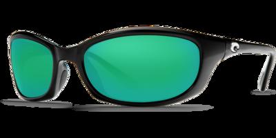 Costa Harpoon 580G Sunglasses - Shiny Black/Green Mirror