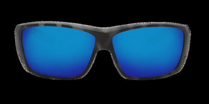 Costa Caballito 580G Sunglasses - Matte Tiger Shark Frame/Blue Mirror Glass