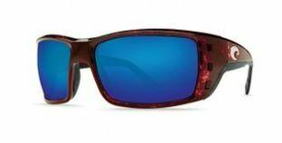 Costa Permit 580P Sunglasses - Tortoise/Blue Mirror