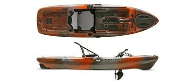 2018 Native Watercraft Slayer 10 Propel Kayak - Copperhead
