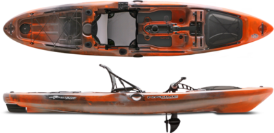 2017 Native Watercraft Slayer 13 Propel Kayak - Copperhead