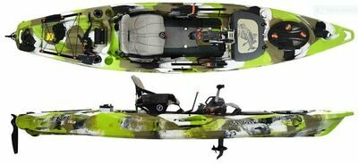 Feelfree Overdrive Lure 13.5 Kayak - Lime Camo