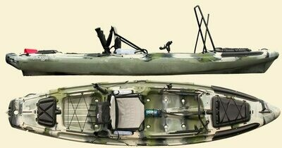 Jackson Big Rig Kayak - Forest Camo