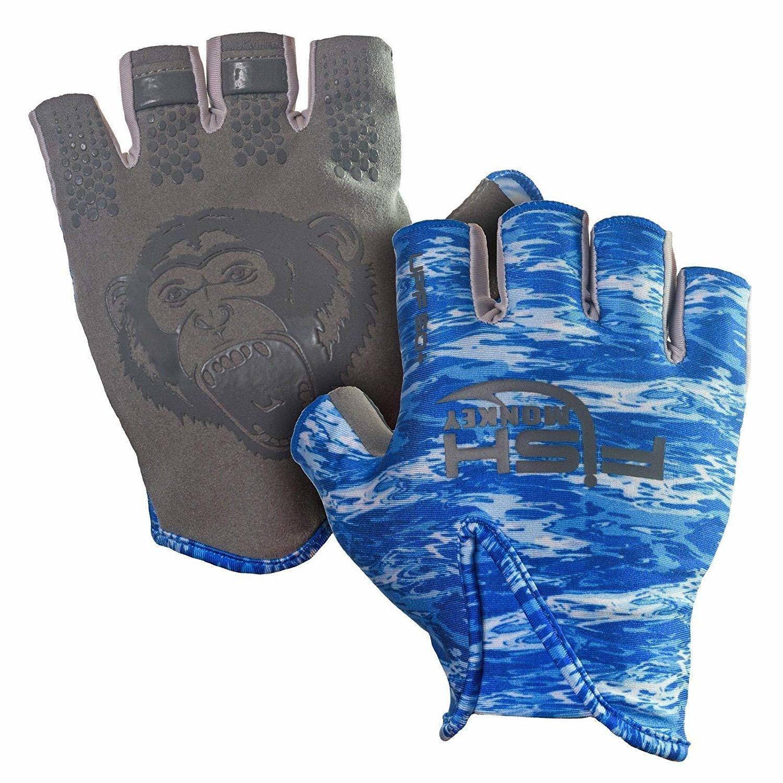 Fish Monkey Stubby Gloves