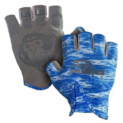 Fish Monkey Stubby Gloves