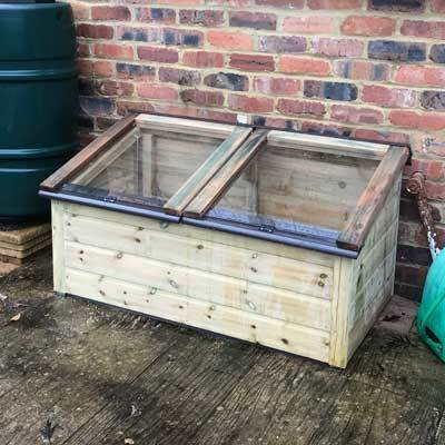 4ft x 2ft Tanalised Coldframe 2X4TANCF