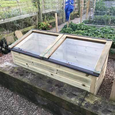 5ft x 2ft Tanalised Coldframe 2X5TANCF