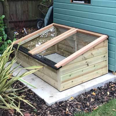 5ft x 3ft Tanalised Coldframe 3X5TANCF
