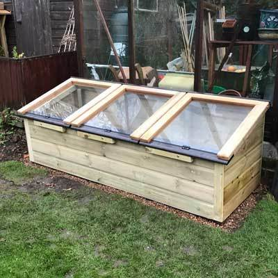 6ft x 2ft Tanalised Coldframe 2X6TANCF