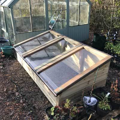 6ft x 3ft Tanalised Coldframe 3X6TANCF