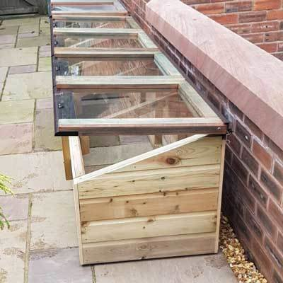 8ft x 2ft Tanalised Coldframe 2X8TANCF