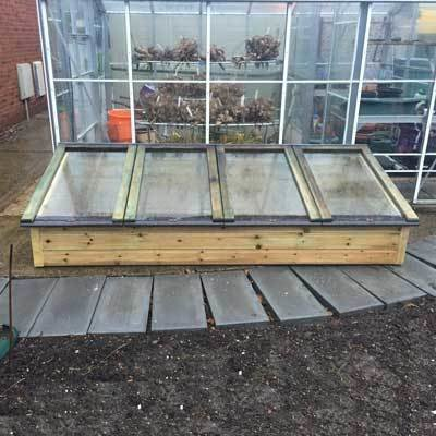 8ft x 3ft Tanalised Coldframe 3X8TANCF