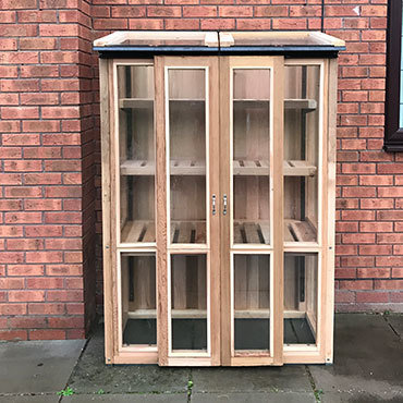 4ft x 2ft, 6ft Tall Cedar Coldframe