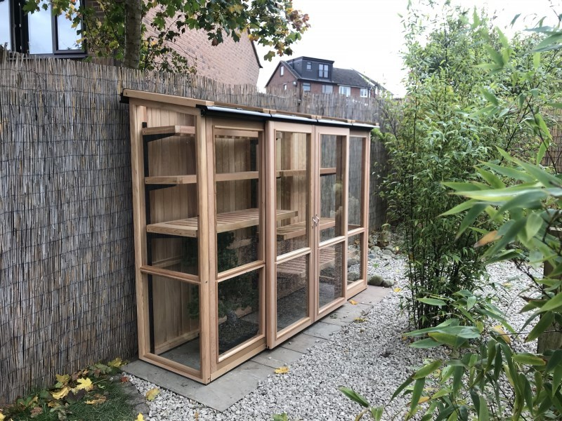 8ft x 2ft, 6ft Tall Cedar Coldframe