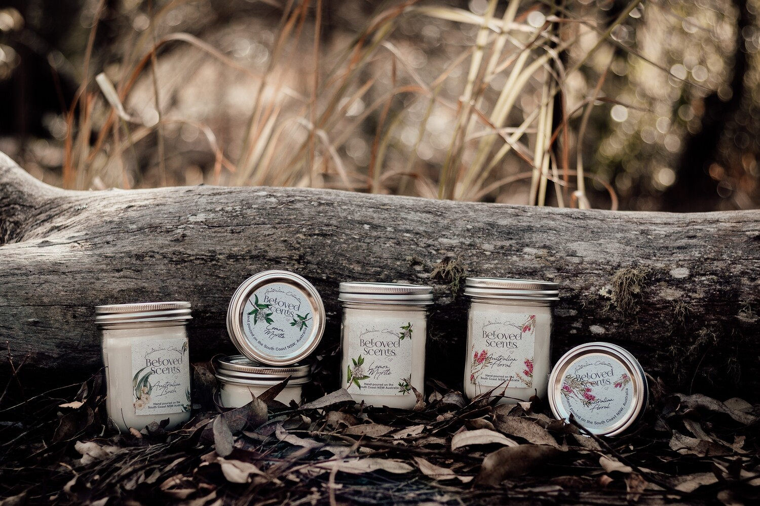 The Australian Collection - 80 HR BURN MASON CANDLE
